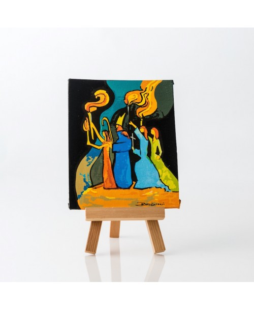 La Rogativa  - Digital Art Design on Canvas - $15.99