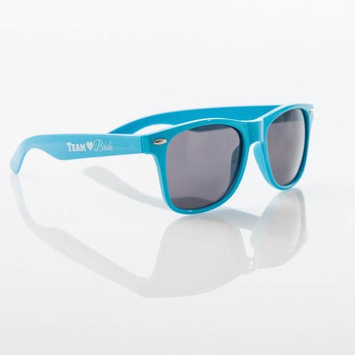TEAM BRIDE Sunglasses - BLUE - $6.99