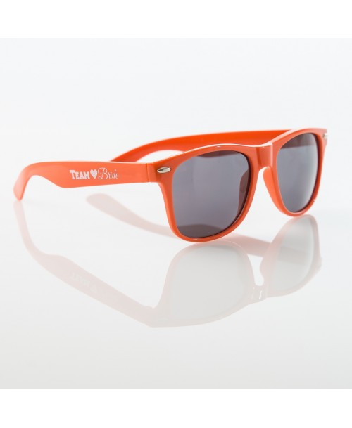 TEAM BRIDE Sunglasses - PEACH - $6.99