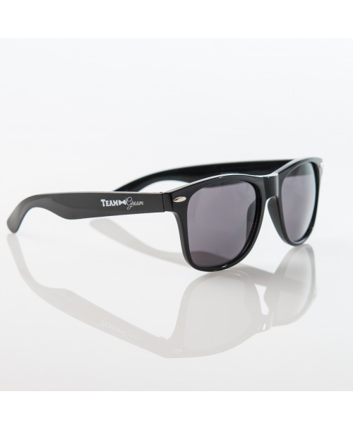 TEAM GROOM Sunglasses - BLACK - $6.99