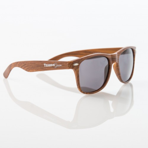 TEAM GROOM Sunglasses - BROWN - $6.99