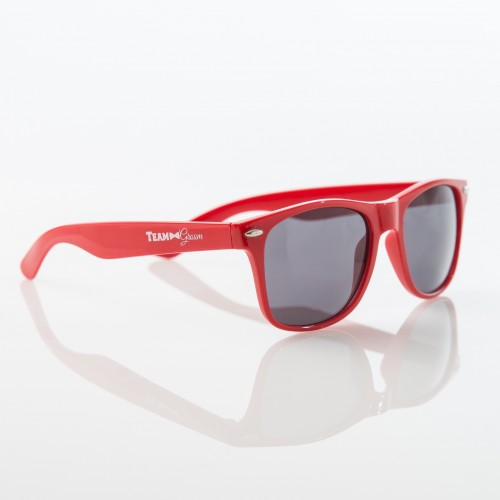 TEAM GROOM Sunglasses -  RED - $6.99