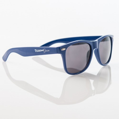 TEAM GROOM Sunglasses -  ROYAL BLUE - $6.99