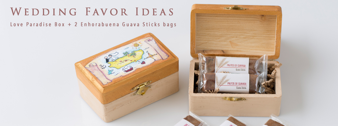 Love Paradise Box + Guava Sticks