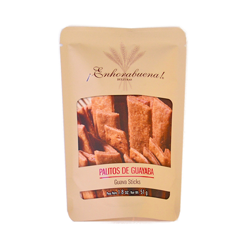 Enhorabuena Snack Bag 1.8 oz (Guava Sticks) $5.00