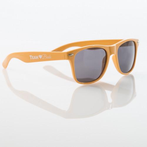 TEAM BRIDE Sunglasses - YELLOW - $6.99