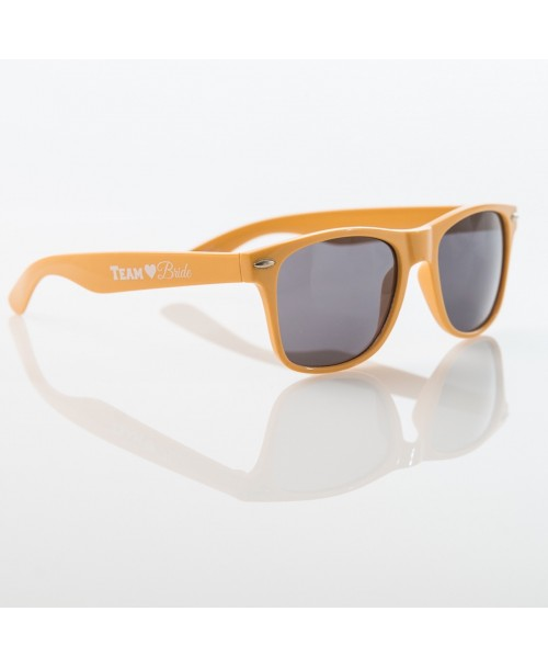 TEAM BRIDE Sunglasses - YELLOW - $6.99