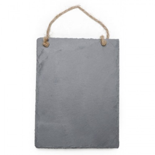 "Hanging Slate Wall Plaque - 8"" L x 6"" W - $10.00"