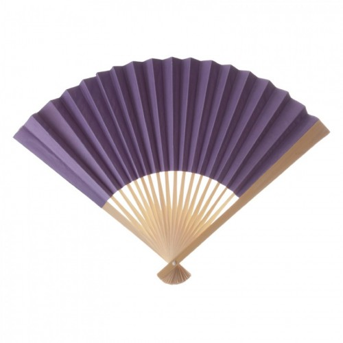 Paper Fan Lavender Purple (Set of 10) - $16.00