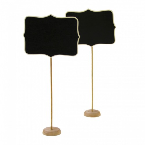 Standing Chalkboard Table Place Cards (Set of 10) - $25.00